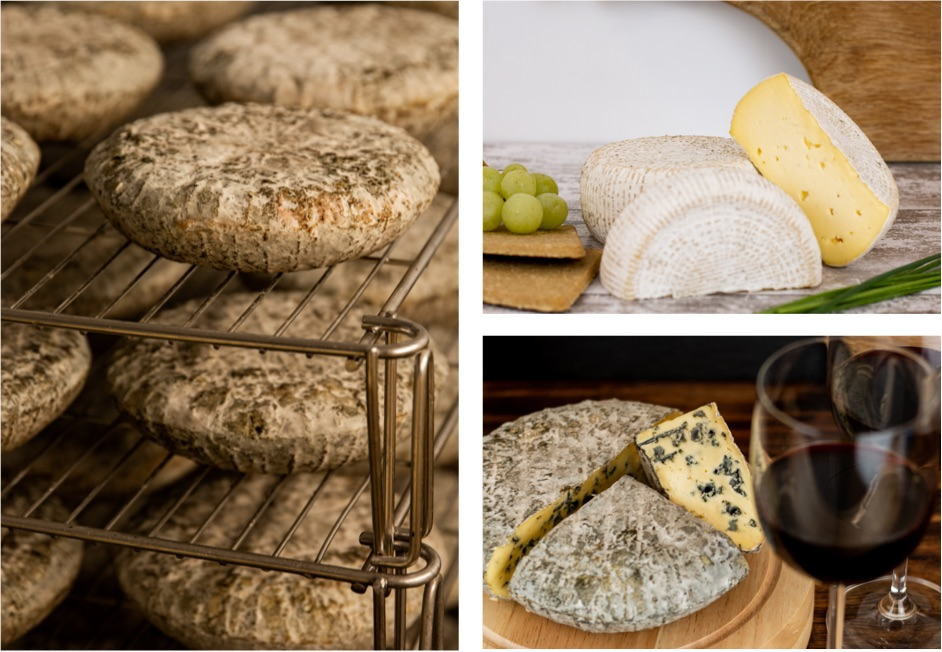 View the full range of our handmade blue cheese.