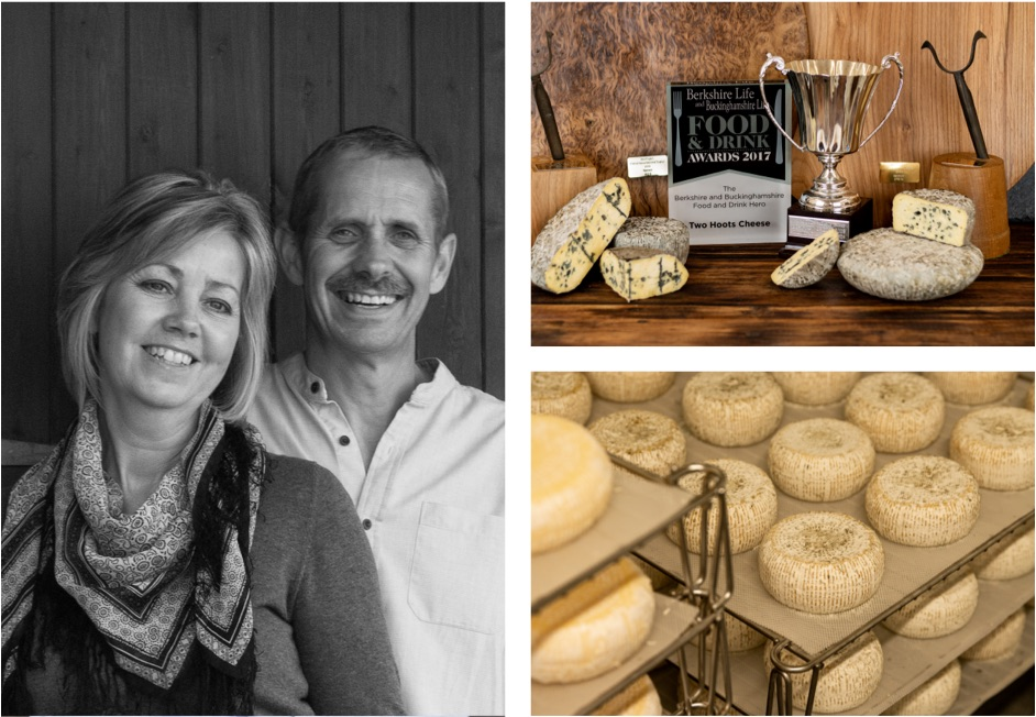 See our story on how we started making our handmade blue cheese.