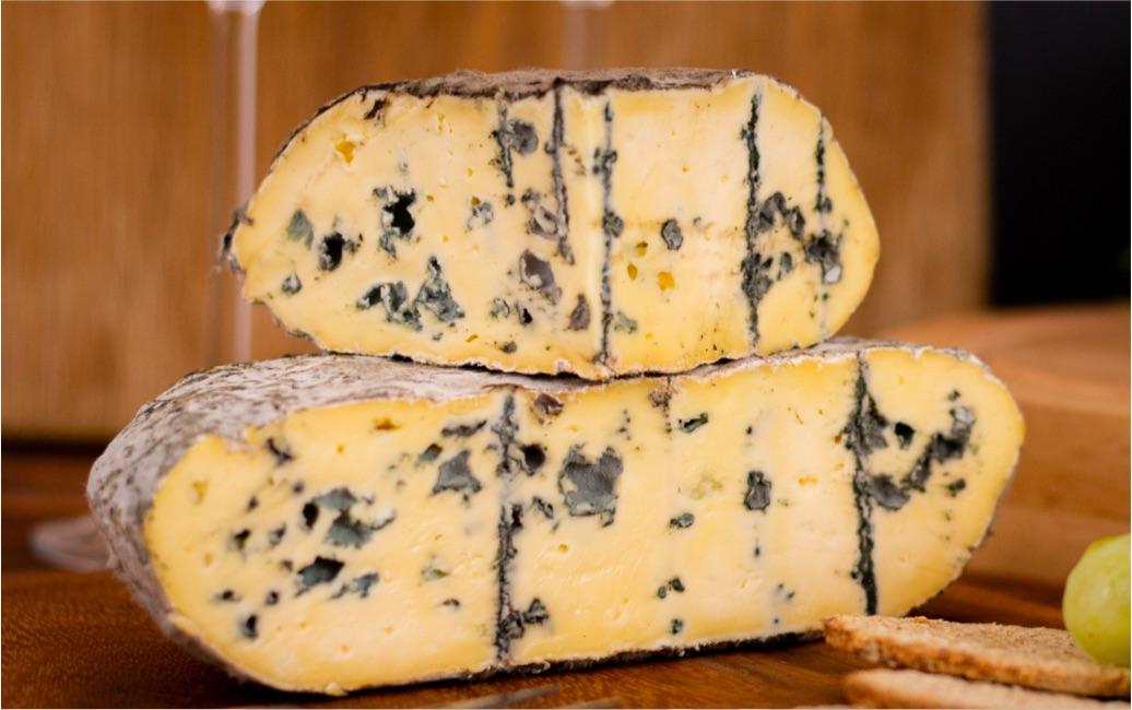 Burkham Blue is an award winning UK blue cheese.